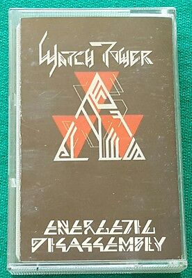 Watchtower - Energetic Disassembly - Rare Tape 1985 - Limited to 1500 Zombo Rec