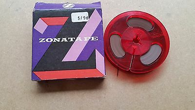 Vintage ZONATAPE 7ins Reel To Reel  Message Tape *NEW BOXED*