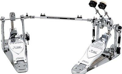 Tama Iron Cobra Limited Edition Chrome Plates Bass Drum Double Kick Pedal