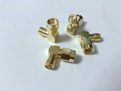 1000PCS lot SMA male to RP-SMA female jack right angle in series RF connector