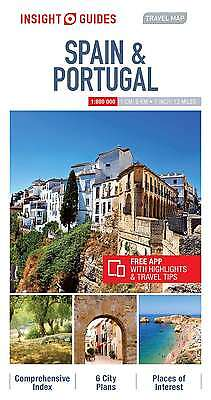 Insight Travel Map Spain & Portugal, Insight Guides, New Book