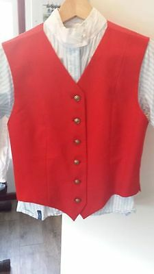 *Ascot Outfitters Show Vest, Ladies 12*