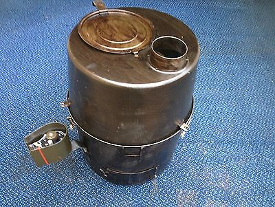 NEW H-45 Rand-Paige Pot Belly Military Tent Space Heater 45,000 BTU NIB