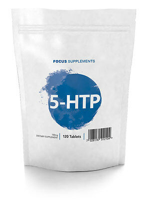 5HTP  |  100mg Tablets  |  60/120/240/960  |  Naturally Improve Mood and Sleep