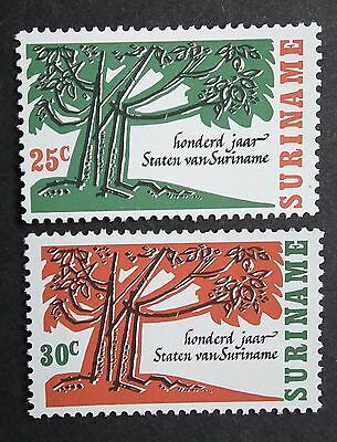 Suriname (1966) Centenary of States / Trees - Mint (MNH)