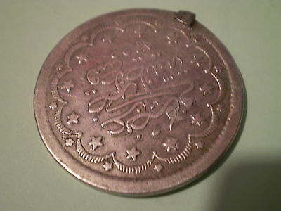 very rare Turkey RARE 20 Kurush AH1255//16 1853 Silver COIN,,,,, PLEASE LOOK