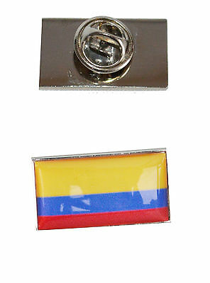 Columbia Flag Tie Pin with free organza pouch