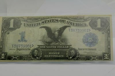 US $1 Large Size 1899 Silver Certificate Black Eagle Very Fine
