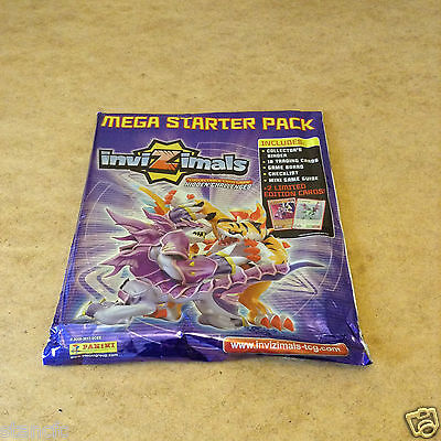 Panini Invizimals Trading Card Game Mega Starter Pack Includes 18 Trading Cards