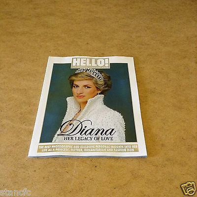 HELLO! 20th ANNIVERSARY COLLECTORS SPECIAL DIANA HER LEGACY OF LOVE PRINCESS DI
