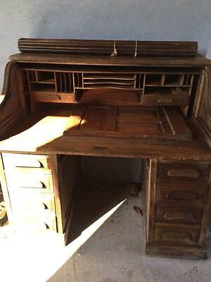 Early 20th Century Roll Top Desk