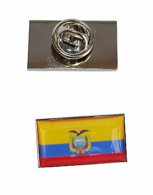 Equador Flag Tie Pin with free organza pouch