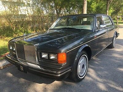 1988 Rolls-Royce Silver Spirit/Spur/Dawn Silver Spur 1988 Rolls-Royce Silver Spur Runs Perfect No Issues Clean Title Services Stamped