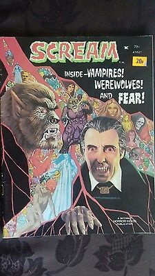 Scream No 3? Rare Skywald Vintage Monster Magazine. Dec 73