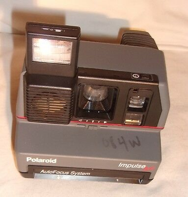 Vintage Polaroid Impulse Af Instant Camera With Auto Focus System And Flash
