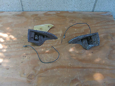 1958 1959 1960 Lincoln Continental Dash Courtesy Lights Right & Left Side