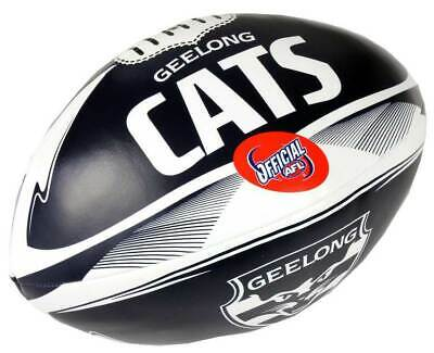 "Geelong Cats AFL Footy PVC 6"" Soft Touch Stress Toy Ball"