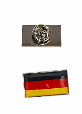 Germany Flag Tie Pin with free organza pouch