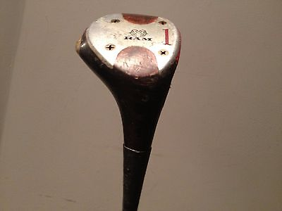 vintage golf club ram No.1 wooden brass pro custom AVON CHAMPIONS