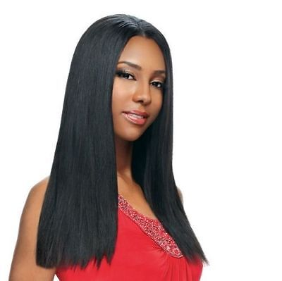 Fashion Trends Long Lace Front Wig Black Straight Hair