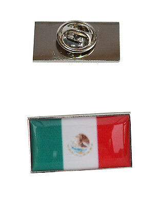 Mexico Flag Tie Pin with free organza pouch