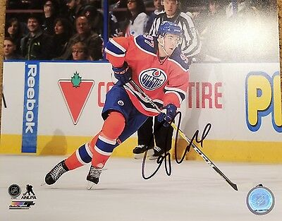 Connor McDavid Signed 8x10 Official Photo Edmonton Oilers Autographed MVP