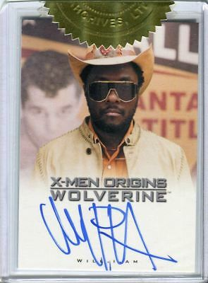 Black Eyed Peas Will.I.Am Autograph Wolverine Card Auto