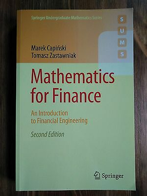 Mathematics for Finance: An Introduction to Financial Engineering by Tomasz Zas…
