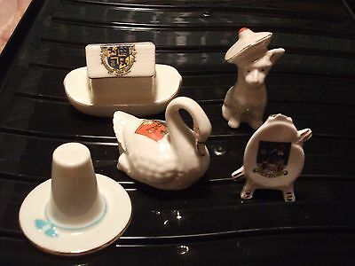 Collection of Crested china