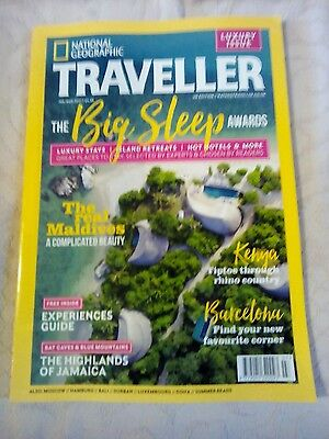 National Geographic travel magazine, JULY / August 2017 issue.
