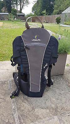 LittleLife ULTRALIGHT fold flat baby toddler backpack baby carrier ..holidays