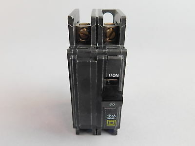 Square D 2-Pole, 50A Circuit Breaker QOU250