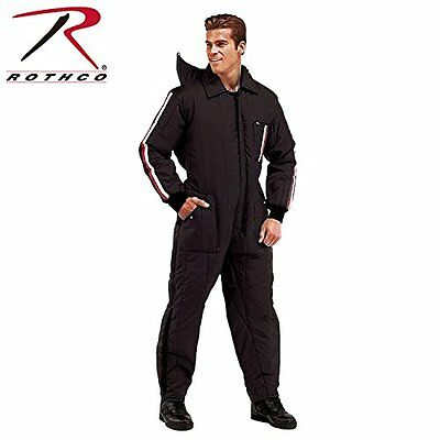 Rothco Men's Insulated Ski & Rescue Snow Suit - Black - Size : Small