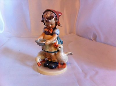 "Authentic Vintage Goebel  Hummel Figurine BE PATIENT apx. 6"" tall Germany"