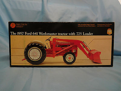 1:16 Scale 1957 Ford 641 Workmaster Tractor with 725 Loader Precision by ERTL