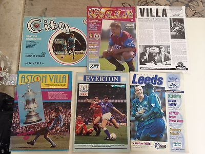 mixed aston villa programs x6 mixed years