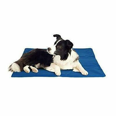 60x44cm PET COOLING MAT BED DOG CAT SUMMER HEAT RELIEF NON TOXIC GEL CUSHION PAD
