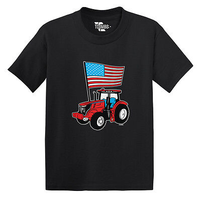 American Flag Tractor- USA Independence 4th of July Toddler/Infant T-shirt