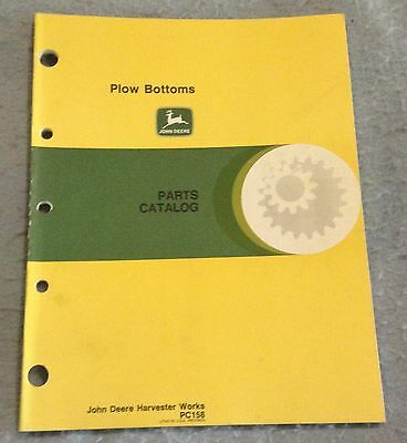 John Deere Plow Bottoms Parts Catalog PC158