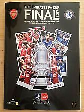 Arsenal Chelsea FA Cup Final 2017 Programme