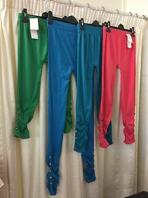 New Ladies Job Lot Of Leggings X4. (pz61)