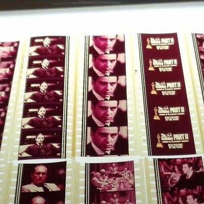 THE GODFATHER II 10 Film Cells Lot Pack  Movie DVD Poster  * FREE SHIPPING *