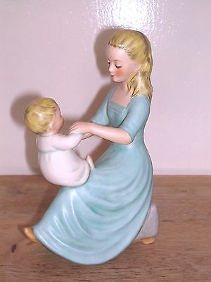 Goabel ~ Mother & Child Figurine ~ Rock A Bye Baby.