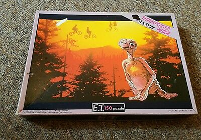 Vintage 1982 ET The Extra Terrestrial Jigsaw Puzzle 150 Pieces