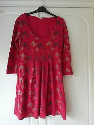 White Stuff Womens Red Top/Tunic Size 14 Bought not worn