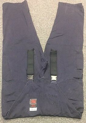 Actionwest Fr overalls bib unlined Indura ultra soft size large HRC 2 44x32
