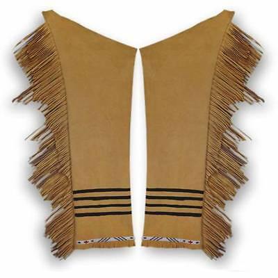 Buckskin Leggings Kit for Northern Plains Sioux Pawnee Crow Plateau Style DIY