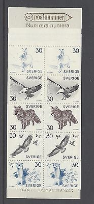 Sweden Scott 803a Complete Booklet  Scott $ 6.50