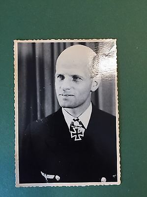 GERMAN WWII PHOTO  RUSSIAN Archive Wolfgang Luth Uboat Submarine Commander