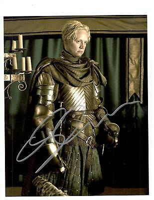 Gwendoline Christie Signed Autograph Montreal Comiccon 2015 Game Of Thrones Coa